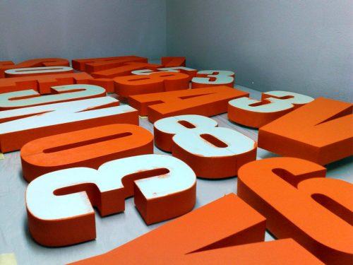 3D nápisy Žilina