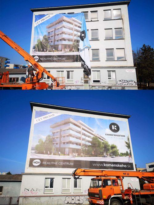 Montáž reklám Žilina